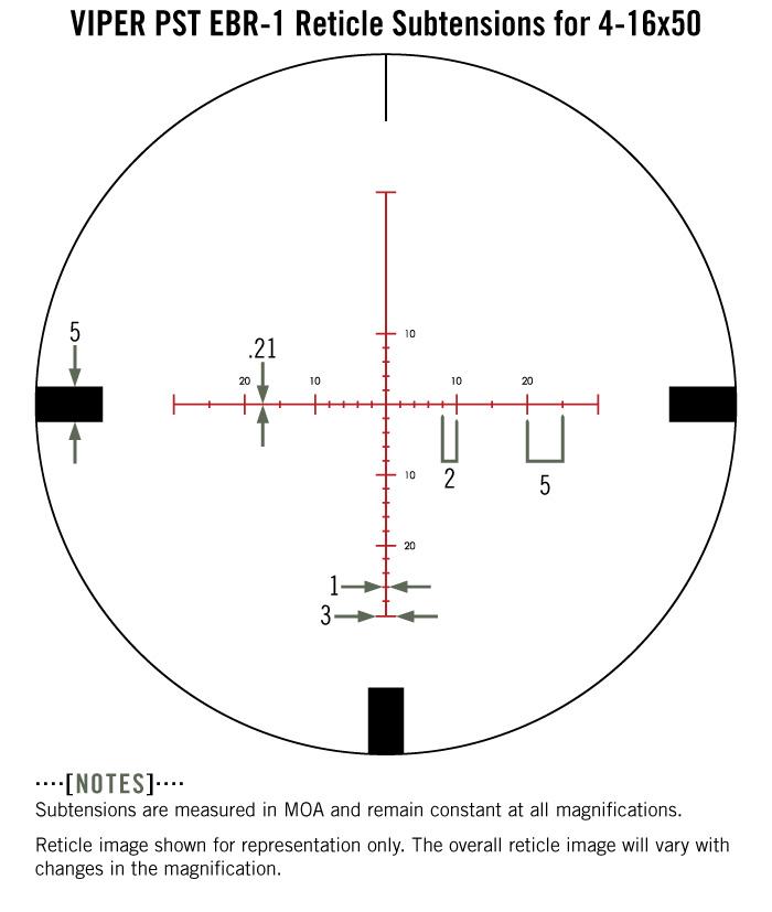 Refurbished Viper Pst 4 16x50 Ffp Riflescope